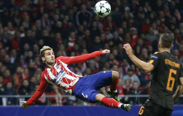 Atletico Madrid menang 2-0 dari As Roma.